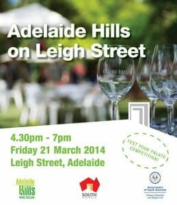 Adelaide Hills on Leigh Street