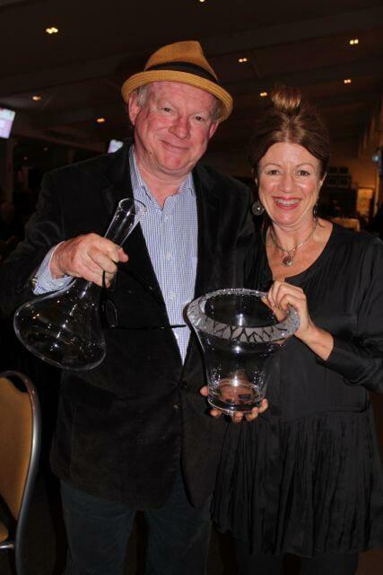 honey moon vineyard shiraz 2012 - 2 trophies